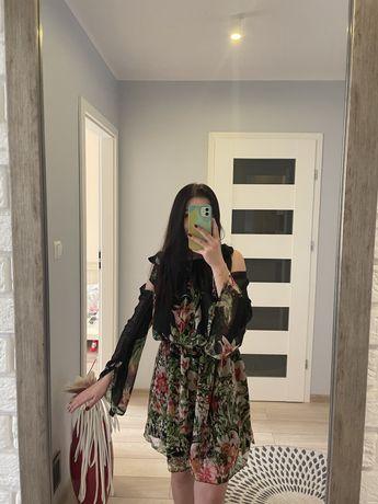 Sukienka w kwiaty, varlesca, rozmiar 36
