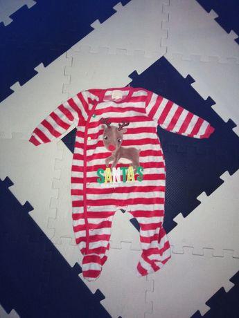 Śpiochy świąteczne, pajacyk świąteczny, piżama swiateczna
