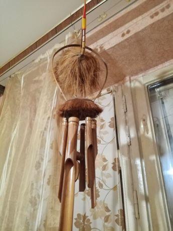 Музыкальная подвеска Аист, бамбук