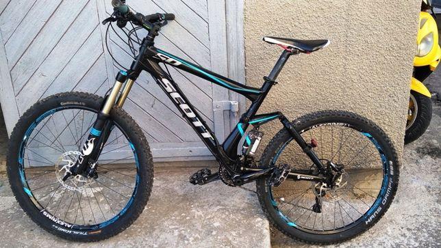 Двухподвес Професійний горний велосипед Scott Genius 50