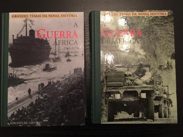 A Guerra de Africa de 61 a 74 em 2vol.