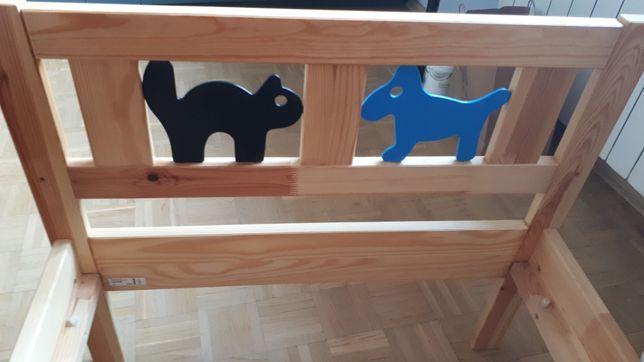 Łóżko drewniane Ikea Kritter 165cm
