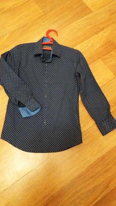 Рубашка на мальчика, рост 124-128см. Никополь - изображение 1