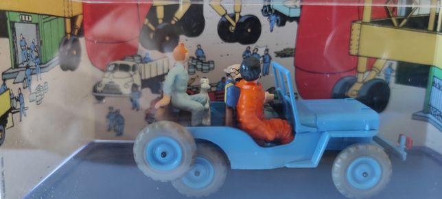 Carro tema Tintin