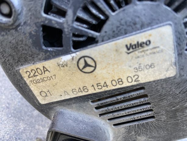 Alternator mercedes sprinter 906 220A