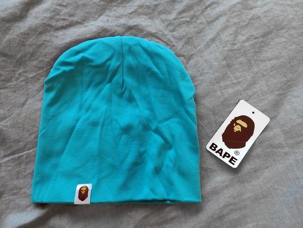 Шапка новая синяя one size