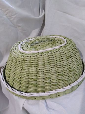 Плетёная хлебница