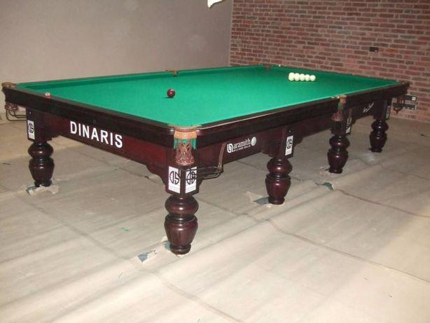 Бильярдный стол Динарис 12 футов. Бильярд русский .Ардезия 45мм
