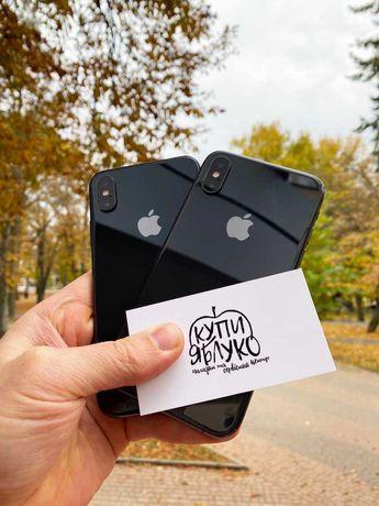 iPhone Xs black 64Gb + гарантія 90 днів