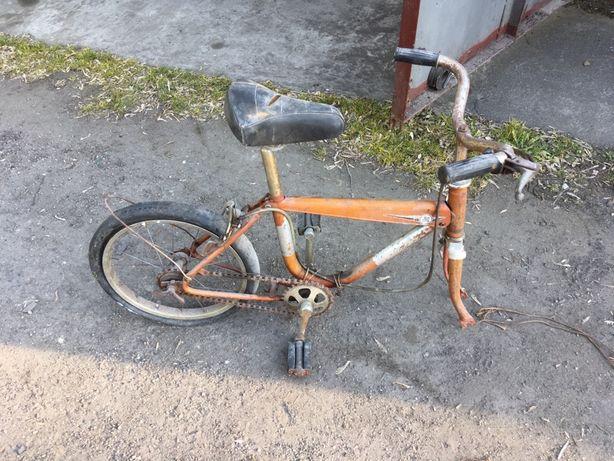 Romet cross 2 reksio pinokio retro rower rowerek dziecięcy