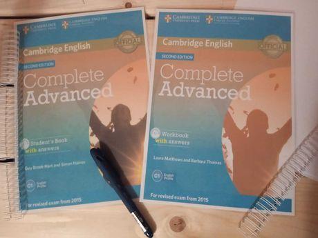 Complete Advanced  КОМПЛЕКТ (КНИЖКА+ЗОШИТ)
