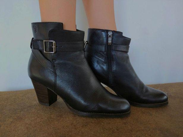 Ботинки женские демисезонные кожаные 38