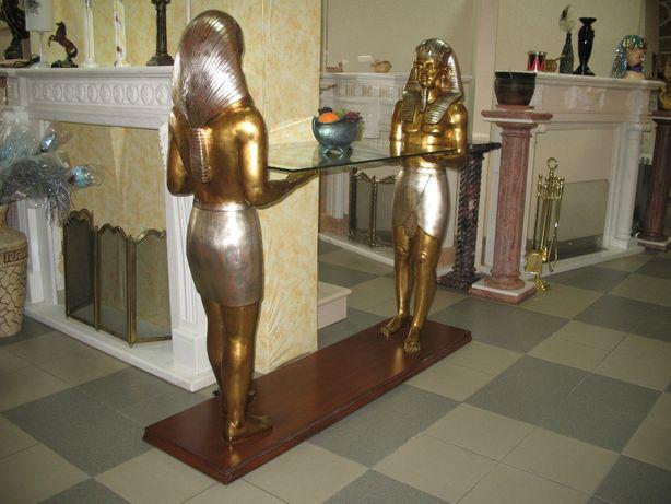 Египецкий столик и статуэтки