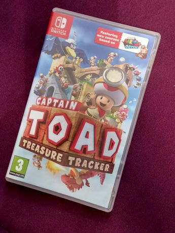 Gra Captain TOAD treasure collection na Nintendo Switch