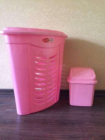 Копзина для белья и корзиа под мусор