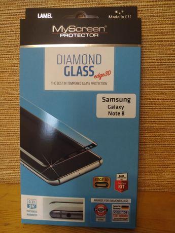 Полноэкранное защитное стекло Hama 3D для Samsung Galaxy Note 8