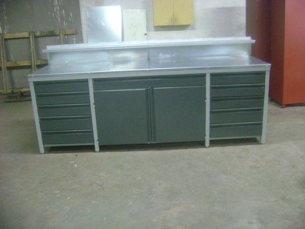 stol warsztatowy 250x70 cm