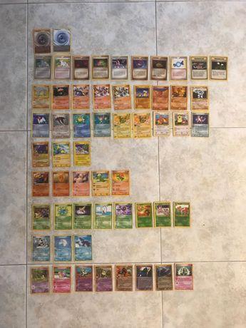 Cartas Pokémon Antigas