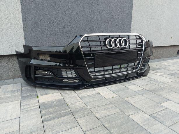 Zderzak przedni przód Audi A4 B8 Lift S-line Competition plus kpl igła