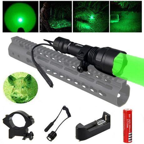 Kit caça/airsoft cor verde