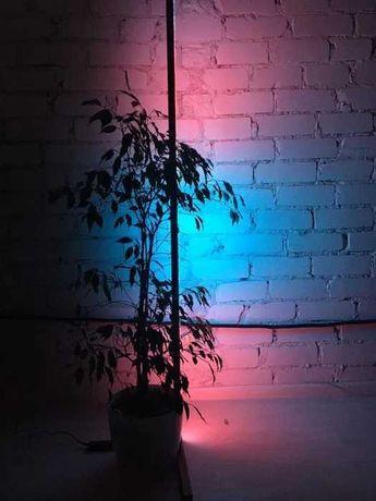 Кутова Bluetooth лампа, кольорова підлогова лампа, неоновий світильник