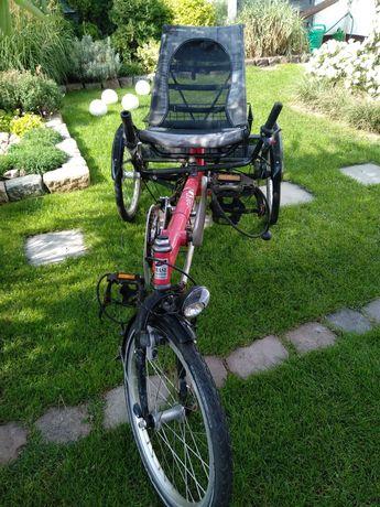 Rower trzykołowy Hase Lepus