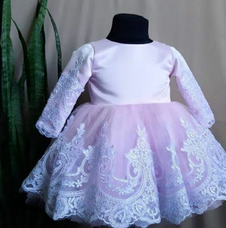 Бальное платье на девочку 1 годик
