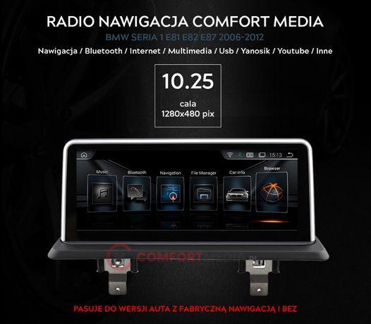 Radio nawigacja ANDROID BMW 1 E81 E82 E87 WWA fv