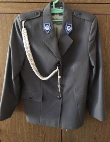 Gabardyna policja ze sznurem + gratis