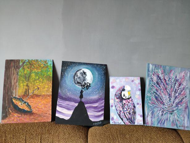 Картины акрил холст