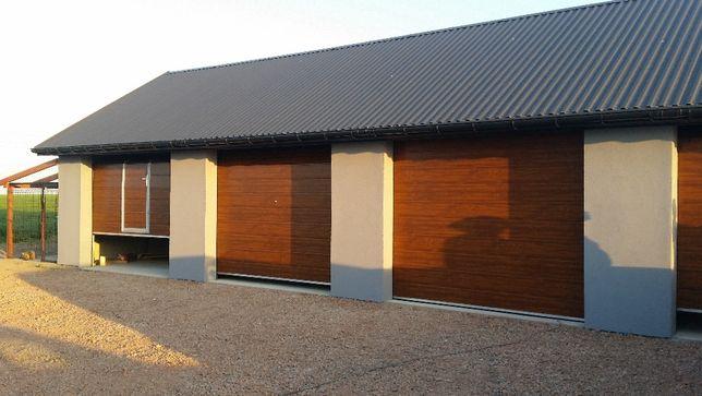 Brama segmentowa garażowa 350 cm x 250 cm Na wymiar