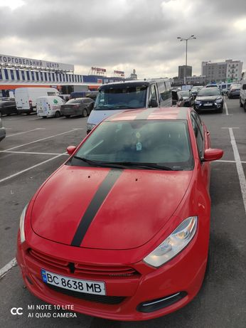 Dodge dart red дарт