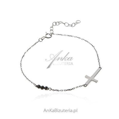 ankabizuteria.pl poczta jubiler Biżuteria Srebrna Srebrne kolczyki z m