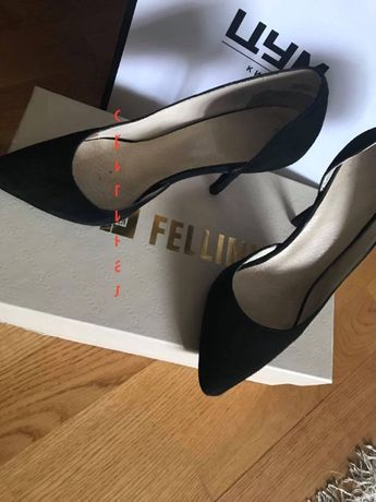 Туфли винтажные женские р. 35-36 Италия Fellini срочно !