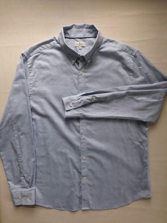 Фирменная хлопковая мужская рубашка Jasper Conran Англия, размер XXL.