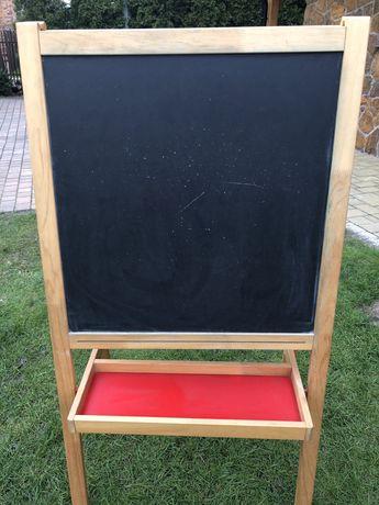 Sztaluga, tablica biała/czarna Ikea Mala