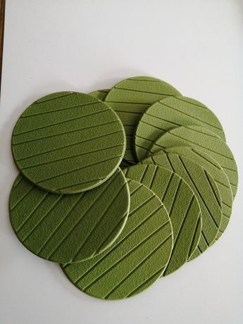Conjunto 10 bases para copos verdes ikea como novo