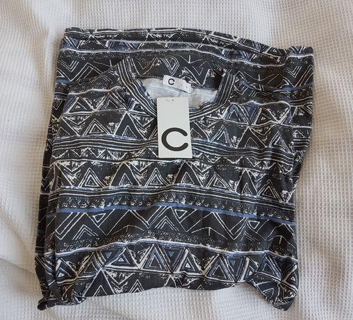 Nowa bluzka w azteckie geometryczne wzory M Cubus
