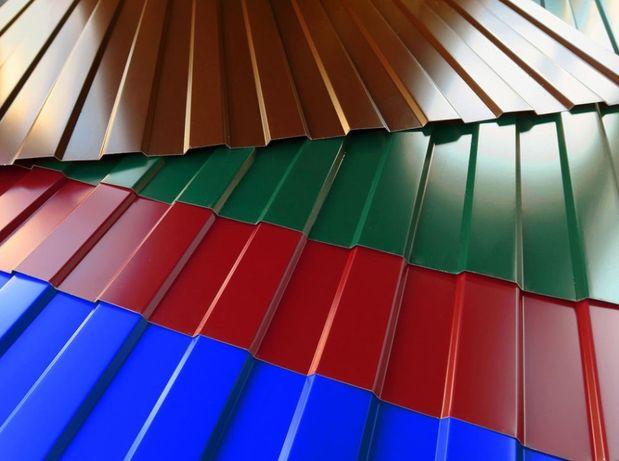 ПРОФНАСТИЛ для заборов, стен и крыш,-от 90грн/м2+БЕСПЛАТНАЯ ДОСТАВКА.
