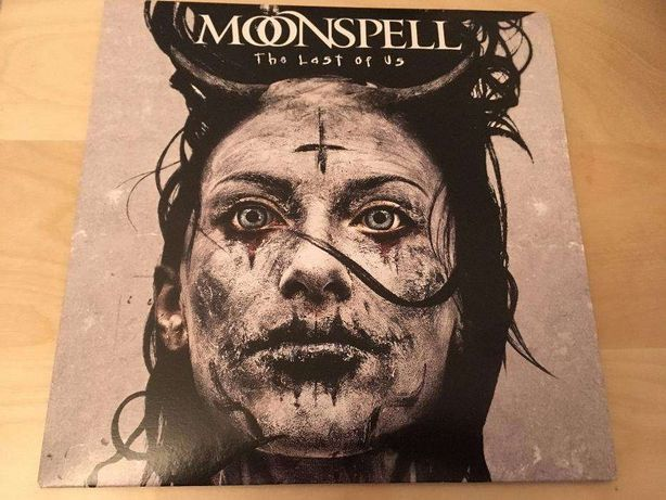 Vinil Single Moonspell The Last Of Us novo, oferta CD promo Antidote