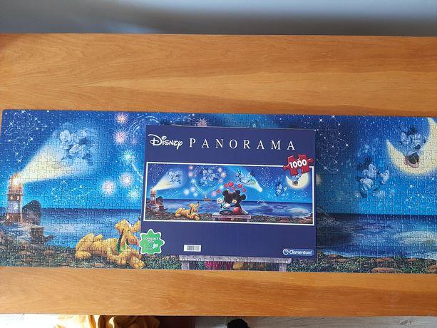 Puzzle 1000 Disney Clementoni myszka Miki Pluto
