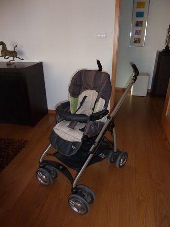 Carrinho bebé (c/ baby coque e alcofa)