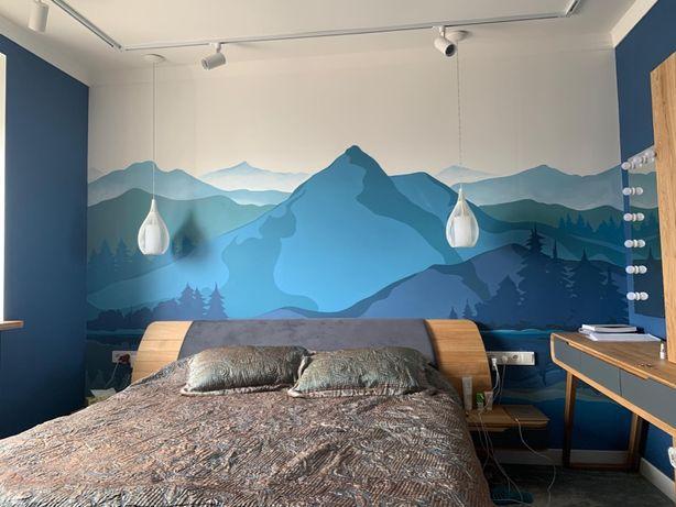 Роспись по стенам, Высокое качество! Киев, Рисунок на стене в квартире