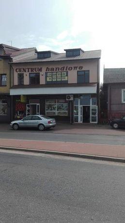 Budynek handlowo-uslugowy w centrum Czyżewa, woj.podlaskie