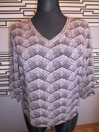 Bluzka ozdoba przy szyji r. 40/42 koszula