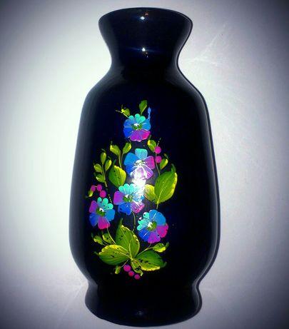 Обалденная ваза для цветов СССР-Украина 60-е. Ручная работа. Торг!