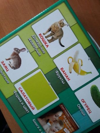 Мой первый чемодан Карточки Домана ламинированный