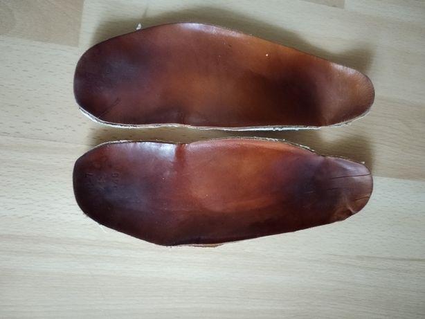 Стельки ортопедические 23,5 см кожа