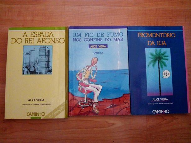 Livros juvenis Alice Vieira