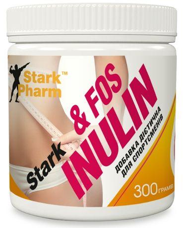 Пребиотик Stark Inulin & FOS 300 г инулин, фруктоолигосахариды 2 месяц